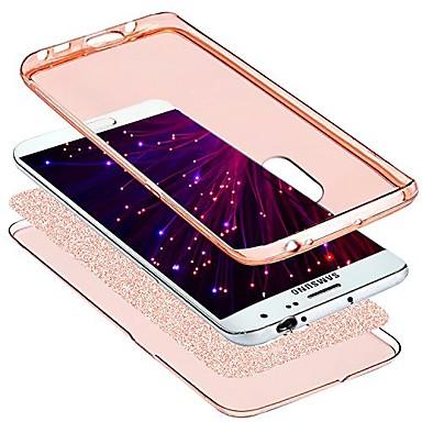 Недорогие Чехлы и кейсы для Galaxy Note 3-Кейс для Назначение SSamsung Galaxy Note 3 Защита от удара / Прозрачный / Сияние и блеск Чехол Прозрачный / Сияние и блеск Мягкий ТПУ