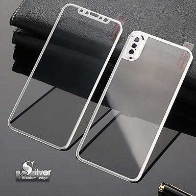 Недорогие Защитные плёнки для экрана iPhone-3d изогнутая передняя крышка из закаленного стекла полная защита экрана замена корпуса крышка из титанового сплава iphone xs max / xr / xs / x / 7 / 7s / 8 / 8s plus