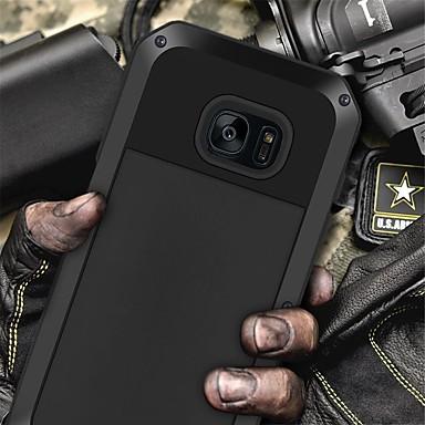 Недорогие Чехлы и кейсы для Galaxy S6-Кейс для Назначение SSamsung Galaxy S6 edge / S6 Защита от пыли / Резервная копия Кейс на заднюю панель Однотонный Мягкий ТПУ