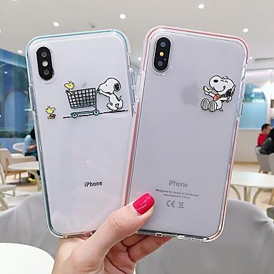 voordelige iPhone 6 Plus hoesjes-hoesje Voor Apple iPhone 11 / iPhone 11 Pro / iPhone 11 Pro Max Patroon Buideltas Cartoon Zacht TPU