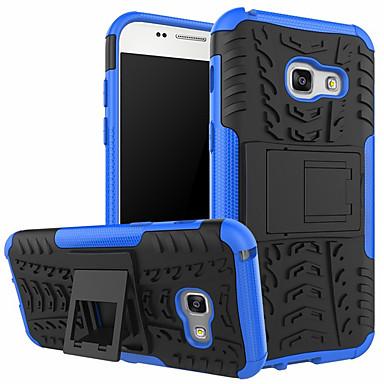Недорогие Чехлы и кейсы для Galaxy S6-Кейс для Назначение SSamsung Galaxy S8 Plus / S8 / S8 Edge Защита от удара / Защита от пыли Кейс на заднюю панель Полосы / волосы Твердый Пластик / ПК