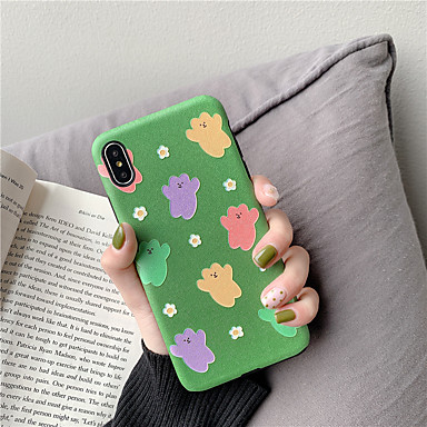 voordelige iPhone 6 Plus hoesjes-hoesje Voor Apple iPhone XS / iPhone XR / iPhone XS Max Waterbestendig / Schokbestendig / Stofbestendig Achterkant Cartoon TPU