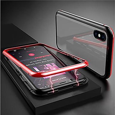 voordelige Huawei Mate hoesjes / covers-hoesje Voor Huawei Huawei Nova 4 / Huawei P20 / Huawei P20 Pro Magnetisch Achterkant Transparant Aluminium