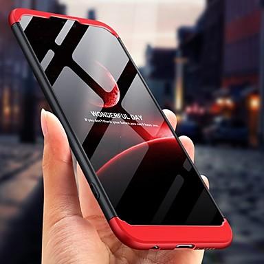 voordelige Huawei Mate hoesjes / covers-hoesje Voor Huawei Huawei P20 / Huawei P20 Pro / Huawei P20 lite 360° rotatie / Schokbestendig / Stofbestendig Achterkant Effen Hard PC
