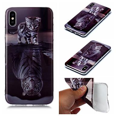 voordelige iPhone 6 hoesjes-hoesje voor Apple iPhone XS iPhone XS Max telefoonhoes TPU materiaal IMD geverfde telefoonhoes voor iPhone XR X 7 plus 8 plus 7 8 6 plus 6s plus 6 6s 5 5s se