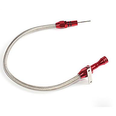 voordelige Noodgereedschap-th400 flexibele roestvrij transmissie peilstok voor GM chevy th-400 turbo sbc bbc 400