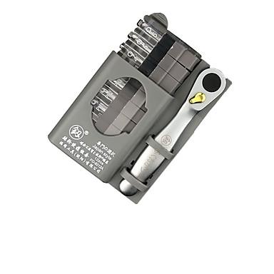 voordelige Noodgereedschap-draagbare mini ratelsleutel schroevendraaiers set rechte en kruis schroevendraaier kit