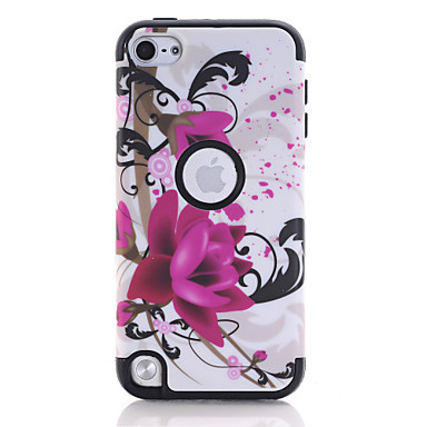 cheap iPhone Cases-Case For Apple Shockproof Back Cover Marble TPU / PC