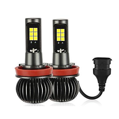 voordelige Motorverlichting-2 stks / set h8 / h11 tweekleurige vrachtwagen high power koplamp lamp