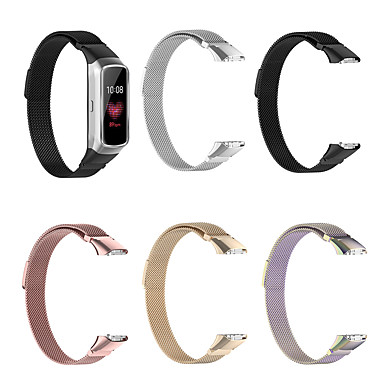 Недорогие Часы для Samsung-магнитный ремешок из нержавеющей стали для ремешка для часов для samsung galaxy fit браслет sm-r370