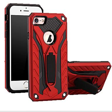 Недорогие Кейсы для iPhone-чехол для apple iphone xs / iphone xr / iphone xs max противоударный задняя крышка броня тпу / углеродное волокно