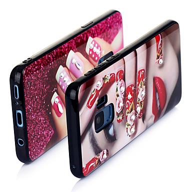 voordelige Galaxy Note-serie hoesjes / covers-hoesje Voor Huawei S9 / S9 Plus / S8 Ultradun / Patroon Achterkant Sexy dame TPU