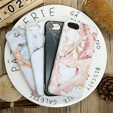 voordelige iPhone X hoesjes-hoesje Voor Apple iPhone XR / iPhone XS Max / iPhone X Stofbestendig / Ultradun / Patroon Achterkant Marmer TPU