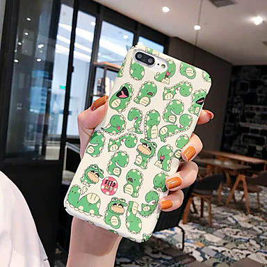 voordelige iPhone 6 Plus hoesjes-hoesje Voor Apple iPhone XS / iPhone XR / iPhone XS Max Stofbestendig / Patroon / Backup Achterkant Cartoon / Marmer TPU