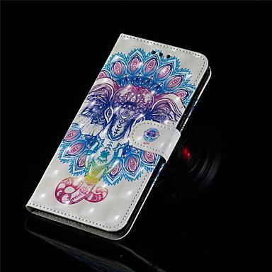 Недорогие Кейсы для iPhone-чехол для яблока для iphone xr / iphone xs max кошелек / держатель для карты / флип чехлы для тела с жесткой искусственной кожей для животных iphone xs / iphone xr / iphone xs max / iphone 6 / 6s /