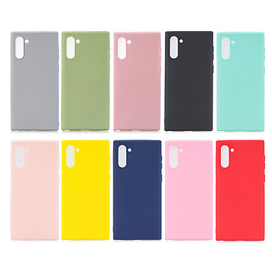 voordelige Galaxy Note-serie hoesjes / covers-voor samsung galaxy note10 case siliconen zachte tpu telefoon case voor samsung note10 note 10 n975f n975 sm-n975f / ds galaxynote10 cover