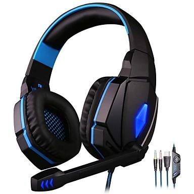 voordelige Gaming-oordopjes-kotion elke g4000 gaming headset stereo hoofdtelefoon met microfoon led licht beste casque voor computer pc gamer fone de ouvido