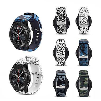 voordelige Horlogebandjes voor Samsung-sport siliconen horlogeband polsband voor Samsung Galaxy horloge 46 mm / versnelling s3 classic / frontier armband vervangbare polsband