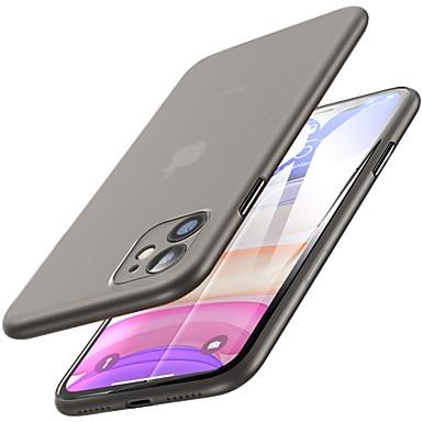 voordelige iPhone-hoesjes-ultra dun frosted telefoonhoesje voor iPhone 11 11 pro 11 pro max xs max xr xs x 8 8 plus 7 7 plus