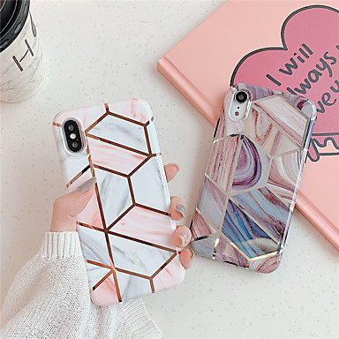 voordelige iPhone 6 hoesjes-hoesje Voor Apple iPhone 11 / iPhone 11 Pro / iPhone 11 Pro Max Patroon Achterkant Geometrisch patroon / Marmer TPU