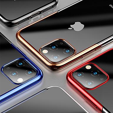 voordelige iPhone X hoesjes-luxe plating zachte TPU-telefoonhoes voor iPhone 11 11 pro 11 pro max xs max xr xs x 8 8 plus 7 7 plus 6 6 plus 6s 6s plus