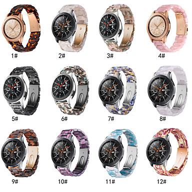voordelige Horlogebandjes voor Samsung-snelsluiting hars 22 mm horlogeband voor samsung galaxy horloge 46 mm / versnelling s3 klassieke polsband riem armband