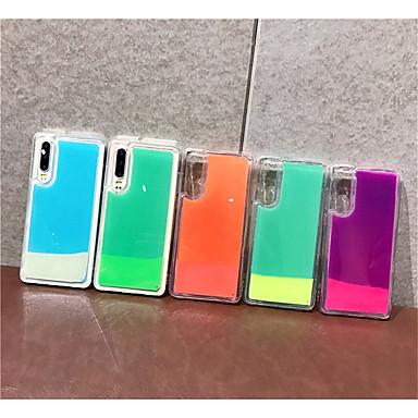 voordelige iPhone X hoesjes-hoesje Voor Apple iPhone XS / iPhone XR / iPhone XS Max Stromende vloeistof / Glitterglans Achterkant Effen TPU