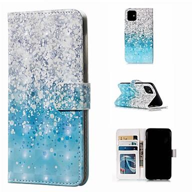 voordelige iPhone 5 hoesjes-hoesje Voor Apple iPhone 11 / iPhone 11 Pro / iPhone 11 Pro Max Portemonnee / Kaarthouder / Flip Volledig hoesje Landschap PU-nahka