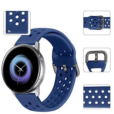 Недорогие Аксессуары для смарт-часов-спортивный силиконовый ремешок для часов ремешок для браслета для garmin vivoactive 3 / vivomove hr / forerunner 645/245 браслет сменный браслет