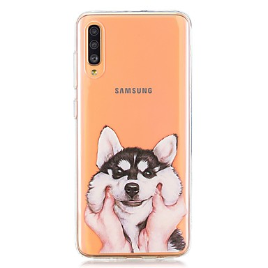 voordelige Galaxy A-serie hoesjes / covers-hoesje voor Samsung Galaxy A40 (2019) / Galaxy A50 (2019) / A70 (2019) Achterkant Cover Husky TPU voor A10 (2019) / A20 (2019) / A30 (2019) / A8 (2018) / A7 (2018) / a6 (2018) / a5 (2017) / a3 (2017)