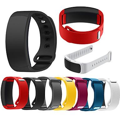voordelige Horlogebandjes voor Samsung-horlogeband voor gear fit 2 / gear fit 2 pro samsung sportband / klassieke gesp siliconen polsband voor gear fit 2 pro