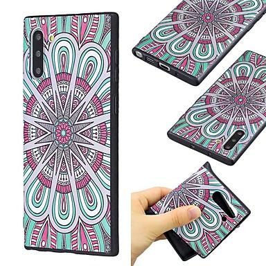 voordelige Galaxy Note-serie hoesjes / covers-hoesje Voor Samsung Galaxy Note 9 / Note 8 / Galaxy Note 10 Ultradun / Patroon Achterkant Bloem TPU