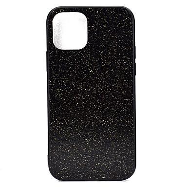 voordelige iPhone X hoesjes-hoesje Voor Apple iPhone 11 / iPhone 11 Pro / iPhone 11 Pro Max Ultradun Achterkant Glitterglans TPU