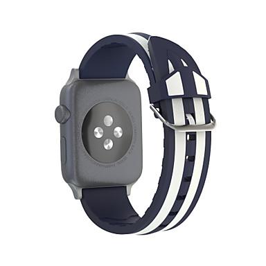 voordelige Smartwatch-accessoires-Horlogeband voor Apple Watch Series 5 / Apple Watch Series 4 / Apple Watch Series 3 Apple Sportband Silicone Polsband
