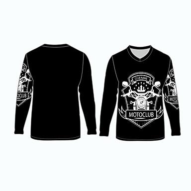 voordelige Motorjacks-clubnaam motorclub motorkleding shirts tops jersey voor unisex polyester / polyamide ademend / snel droog