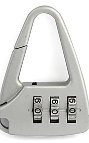 Cadeado para Mala Cadeado com Código Dígito fechamento codificado Mini Tamanho Acessório de Bagagem Anti-Roubo Para Malas de Viagem