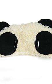 Oogmasker in pandastijl