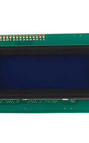 2004 20x4 White Characters LCD Display Module
