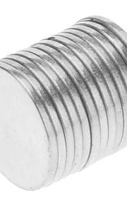 Magnetiske puslespil Byggeklodser / Neodymmagnet / Superkraftige neodym-magneter 50pcs 8*1mm Magnet Magnetisk Pige Børne / Voksne Gave