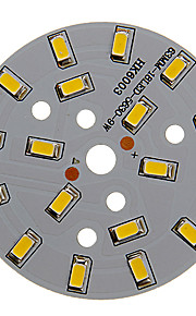 9w 800-850lm varmt hvitt lys 5730smd integrert ledermodul (27-30v)
