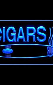 sigarer cuban produksjon reklame ledet lysskilt