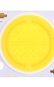 30w cob 2900-3100lm 4500k naturlig hvit lys led chip (30-34v, 600ua)