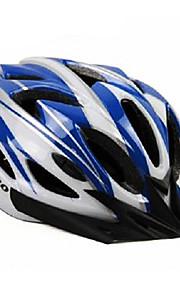 acrono 22 פתחי אוורור קסדה אינטגרלי יצוק כחולה לבנה רכיבה על אופניים (57-62cm)