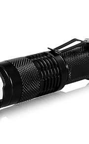 LED Lommelygter LED 240lm 3 Lys Tilstand Zoombar / Justerbart Fokus / Genopladelig Camping / Vandring / Grotte Udforskning / Dagligdags