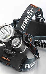 4mode Headlamps Bike Lights Headlight LED 5000 lm 4 Mode Cree XM-L T6 with Batteries and Charger Impact Resistant Rechargeable Waterproof