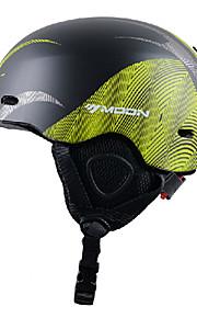MOON® קסדה לנשים / לגברים / יוניסקס קסדת ספורט שלג ספורטיבי קסדת ספורט ירוק / שחור קסדת שלג CE EN 1077 / ASTM PC / EPPרכיבה על אופניים /