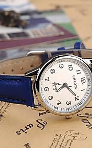 Mulheres Relógio Elegante Relógio de Moda Quartzo PU Banda Preta Azul