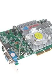 NVIDIA GeForce fx5200b 256m agp 8x grafische kaart