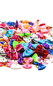 Cat Dog Hair Accessories Hair Bow Dog Clothes Cute Holiday Bowknot Random Color Costume For Pets