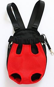 Katze Hund Transportbehälter &Rucksäcke vorne Rucksack Haustiere Träger Tragbar Atmungsaktiv Solide Beige Purpur Rot Blau Rosa